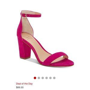 INC pink heels size 7